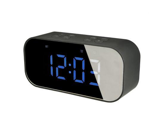 Настольные часы-колонка BT501 чёрные