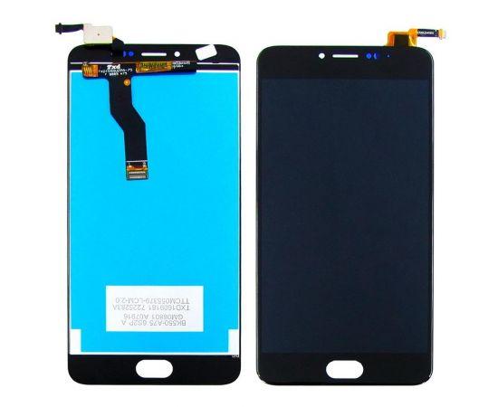 Дисплей для Meizu M3 Note (model L681H) с чёрным тачскрином