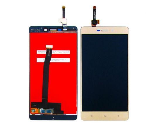 Дисплей для Xiaomi Redmi 3 с золотистым тачскрином