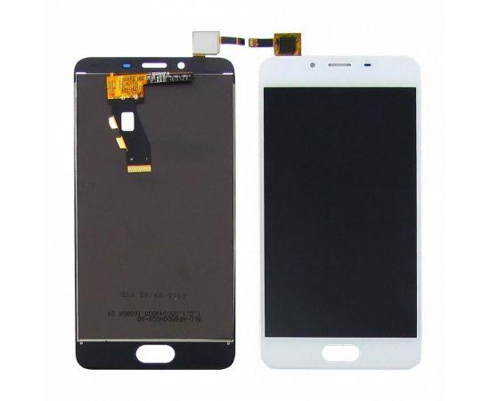 Дисплей для Meizu U10 с белым тачскрином