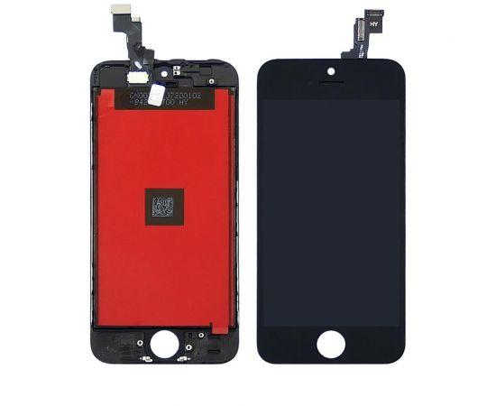Дисплей для Apple iPhone SE с чёрным тачскрином HC