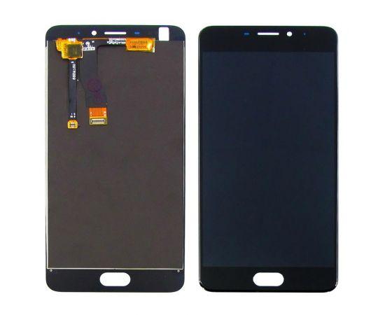 Дисплей для Meizu M5 Note с чёрным тачскрином