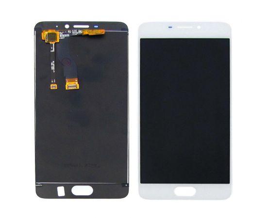 Дисплей для Meizu M5 Note с белым тачскрином