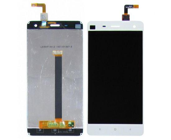 Дисплей для Xiaomi Mi4 с белым тачскрином