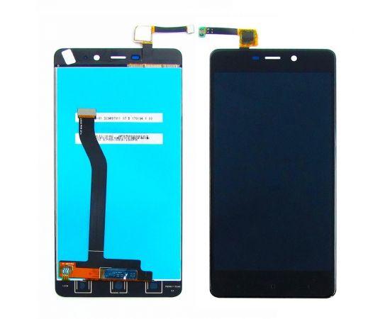 Дисплей для Xiaomi Redmi 4 Pro с чёрным тачскрином