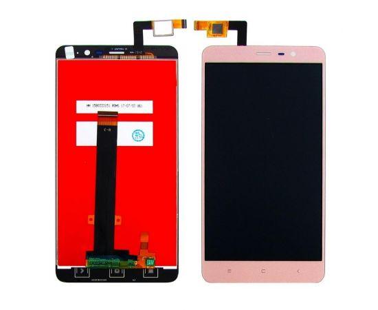 Дисплей для Xiaomi Redmi Note 3 с золотистым тачскрином