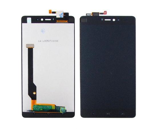 Дисплей для Xiaomi Mi4c с чёрным тачскрином