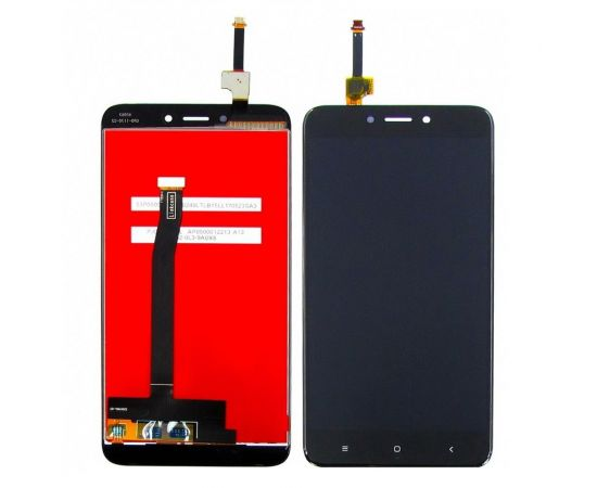 Дисплей для Xiaomi Redmi 4X с чёрным тачскрином