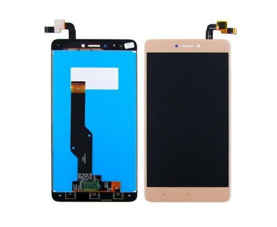 Дисплей для Xiaomi Redmi Note 4X с золотистым тачскрином