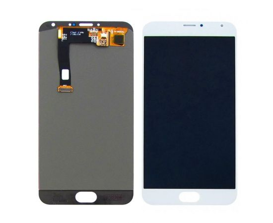 Дисплей для Meizu MX5 с белым тачскрином OLED