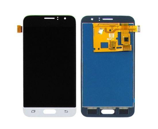 Дисплей для Samsung J120 Galaxy J1 (2016) с чёрно-белым тачскрином, с регулируемой подсветкой IPS