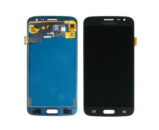 Дисплей для Samsung J210 Galaxy J2 (2016) с чёрным тачскрином, с регулируемой подсветкой