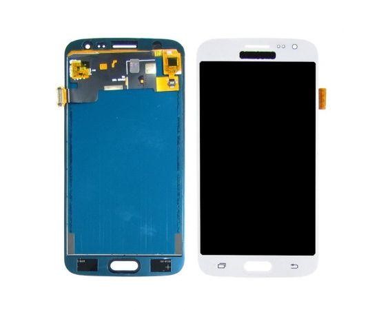 Дисплей для Samsung J210 Galaxy J2 (2016) с белым тачскрином, с регулируемой подсветкой
