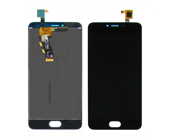 Дисплей для Meizu M3 с чёрным тачскрином