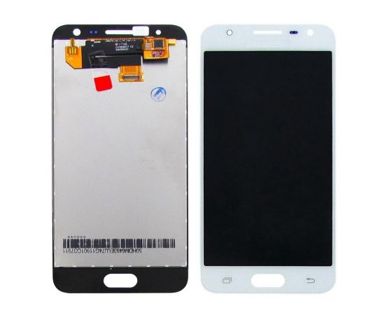 Дисплей для Samsung G570 Galaxy J5 Prime с белым тачскрином, с регулируемой подсветкой