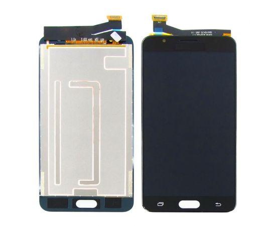 Дисплей для Samsung G610 Galaxy J7 Prime с чёрным тачскрином, с регулируемой подсветкой