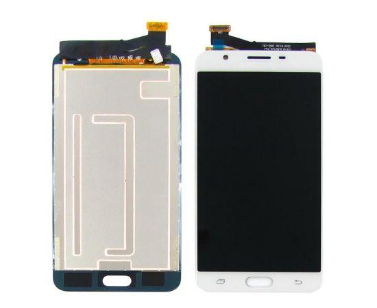 Дисплей для Samsung G610 Galaxy J7 Prime с белым тачскрином, с регулируемой подсветкой
