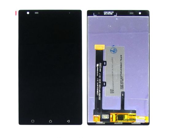 Дисплей для Lenovo Vibe X3 с чёрным тачскрином