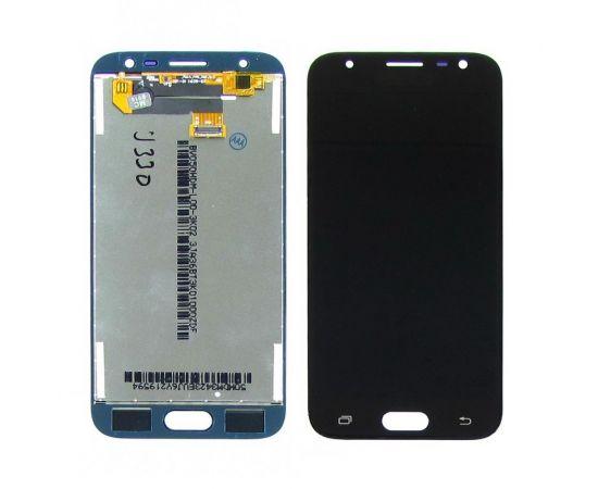 Дисплей для Samsung J330 Galaxy J3 (2017) с черным тачскрином