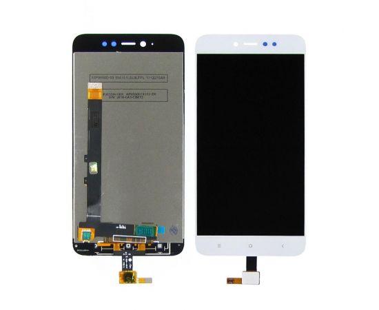 Дисплей для Xiaomi Redmi Note 5A Prime с белым тачскрином