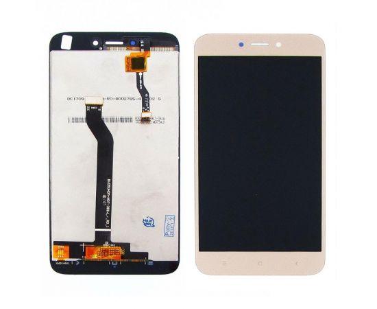 Дисплей для Xiaomi Redmi 5A с золотистым тачскрином