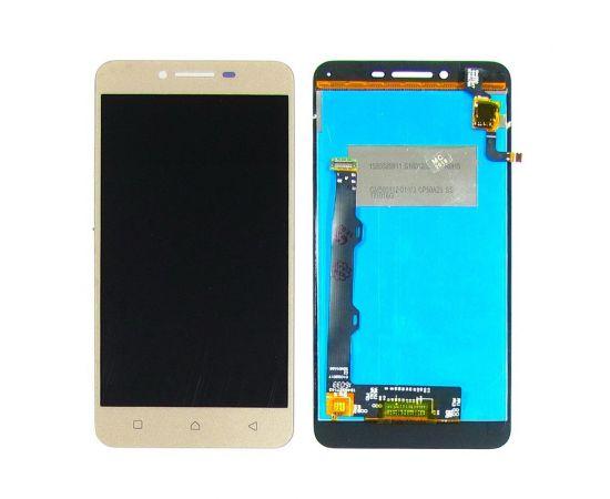 Дисплей для Lenovo A6020a46 Vibe K5 Plus с золотистым тачскрином