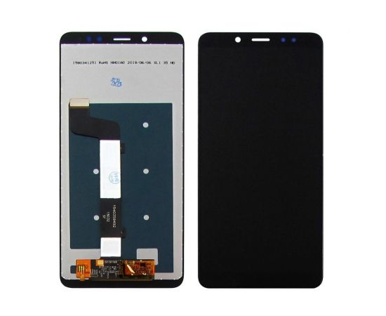 Дисплей для Xiaomi Redmi Note 5/Note 5 Pro с чёрным тачскрином