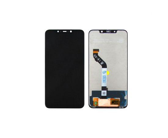 Дисплей для Xiaomi Pocophone F1 с чёрным тачскрином
