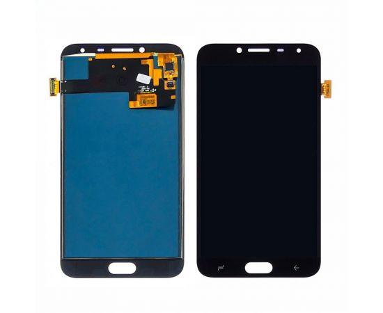 Дисплей для Samsung J400 Galaxy J4 (2018) с черным тачскрином, с регулируемой подсветкой