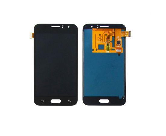Дисплей для Samsung J120 Galaxy J1 (2016) с чёрным тачскрином, с регулируемой подсветкой IPS