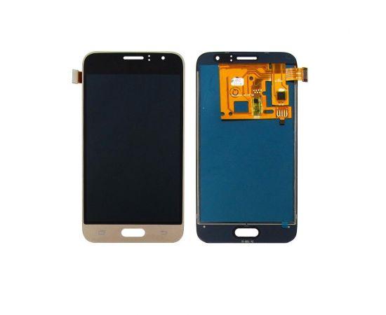 Дисплей для Samsung J120 Galaxy J1 (2016) с золотистым тачскрином, с регулируемой подсветкой IPS