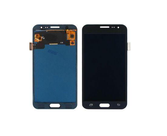 Дисплей для Samsung J320 Galaxy J3 (2016) с чёрным тачскрином, с регулируемой подсветкой БЕЗ ЛОГОТИПА