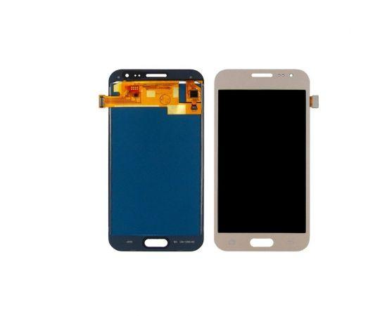 Дисплей для Samsung J200 Galaxy J2 с золотистым тачскрином, с регулируемой подсветкой