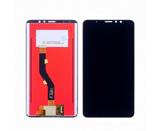 Дисплей для Meizu M8 Note с чёрным тачскрином
