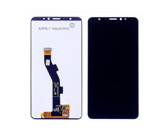 Дисплей для Meizu M8/V8 Pro с чёрным тачскрином