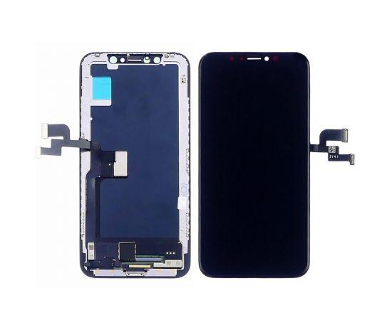 Дисплей для Apple iPhone X с чёрным тачскрином ZY-OLED