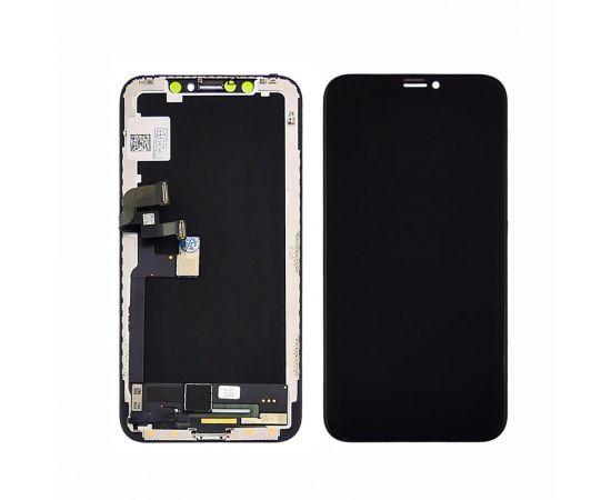 Дисплей для Apple iPhone X с чёрным тачскрином GX-AMOLED