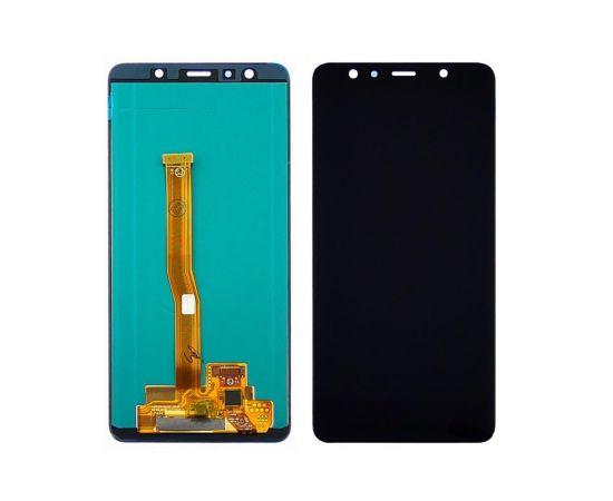 Дисплей для Samsung A750 Galaxy A7 (2018) с чёрным тачскрином, с регулируемой подсветкой IPS