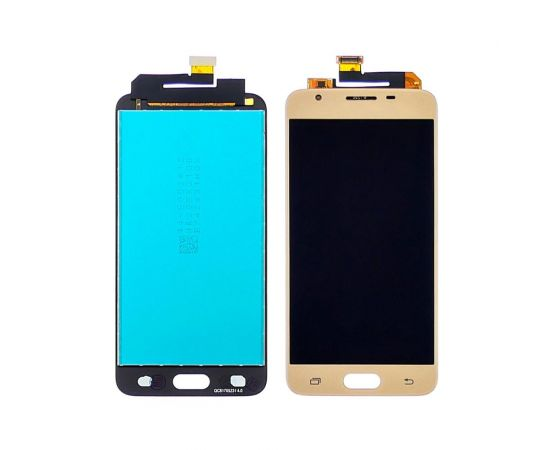 Дисплей для Samsung G570 Galaxy J5 Prime с золотистым тачскрином, с регулируемой подсветкой
