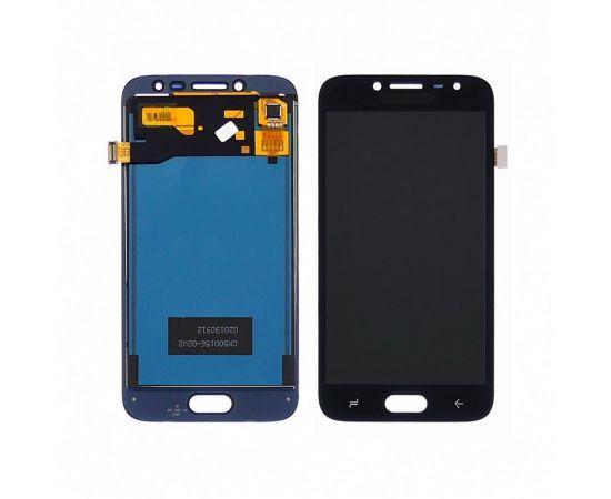 Дисплей для Samsung J250 Galaxy J2 (2018) с чёрным тачскрином, с регулируемой подсветкой