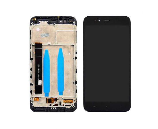 Дисплей для Xiaomi Mi5X/Mi A1 с чёрным тачскрином и корпусной рамкой