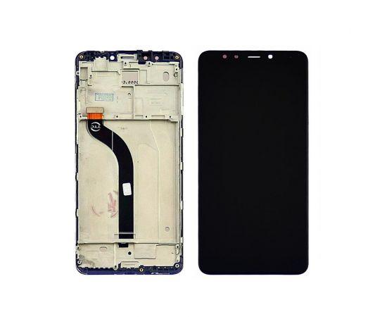 Дисплей для Xiaomi Redmi 5 с чёрным тачскрином и корпусной рамкой
