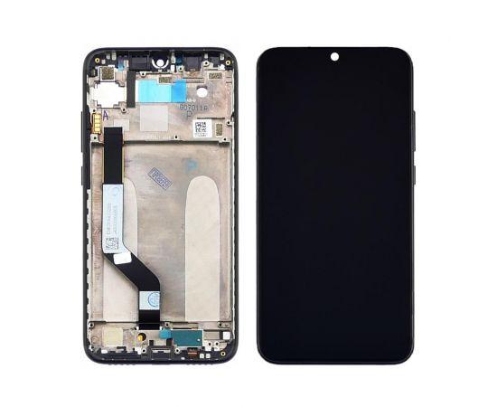 Дисплей для Xiaomi Redmi Note 7/Note 7 Pro с чёрным тачскрином и корпусной рамкой