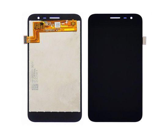 Дисплей для Samsung J260 Galaxy J2 Core (2018) с чёрным тачскрином, с регулируемой подсветкой