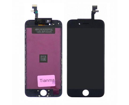 Дисплей для Apple iPhone 6 с чёрным тачскрином Tianma