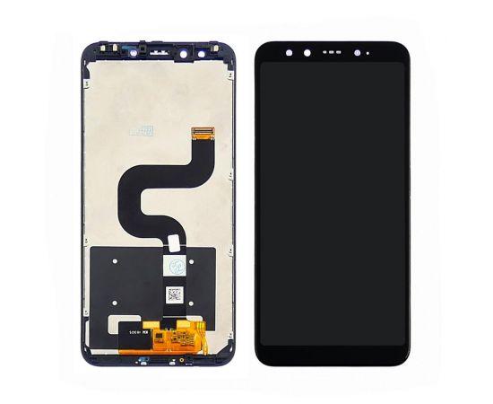Дисплей для Xiaomi Mi6X/Mi A2 с чёрным тачскрином и дисплейной рамкой