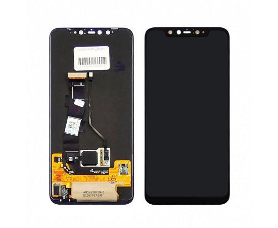 Дисплей для Xiaomi Mi8 Pro с чёрным тачскрином OLED