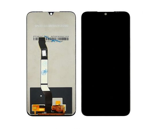 Дисплей для Xiaomi Redmi Note 8 с чёрным тачскрином