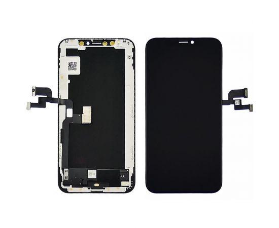 Дисплей для Apple iPhone XS с чёрным тачскрином GX-AMOLED