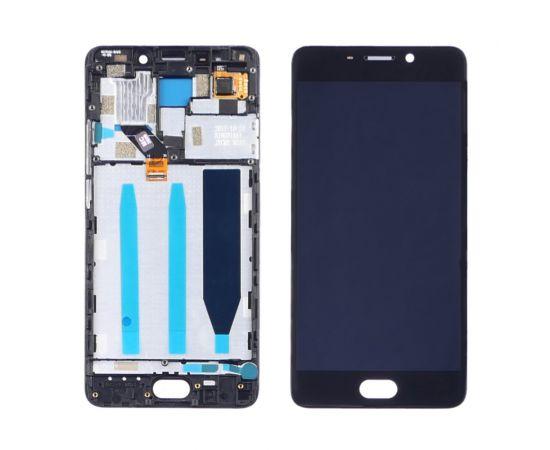 Дисплей для Meizu M6 Note с чёрным тачскрином и корпусной рамкой